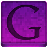 Pink Google Icon 96x96 png