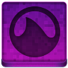 Pink Grooveshark Icon 96x96 png