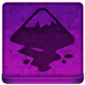 Pink Inkscape Icon 96x96 png