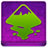 Pink Inkscape Coloured Icon 96x96 png