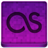Pink Last.fm Icon 96x96 png