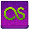 Pink Last.fm Coloured Icon 96x96 png