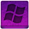 Pink Microsoft Icon 96x96 png