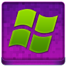 Pink Microsoft Coloured Icon 96x96 png
