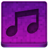 Pink Music Icon 96x96 png