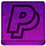 Pink PayPal Icon 96x96 png