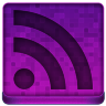 Pink RSS Icon 96x96 png