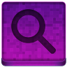 Pink Search Icon 96x96 png