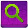 Pink Search Coloured Icon 96x96 png