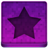 Pink Star Icon 96x96 png