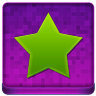 Pink Star Coloured Icon 96x96 png