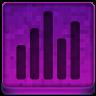 Pink Statistics Icon 96x96 png