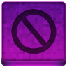 Pink Stop Icon 96x96 png