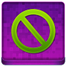 Pink Stop Coloured Icon 96x96 png