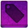 Pink Tag Icon 96x96 png