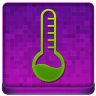 Pink Temperature Coloured Icon 96x96 png