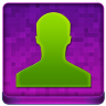 Pink User Coloured Icon 96x96 png