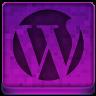 Pink WordPress Icon 96x96 png