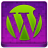 Pink WordPress Coloured Icon 96x96 png