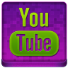 Pink YouTube Coloured Icon 96x96 png