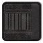 Barcode Black Icon 64x64 png