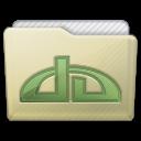 Beige Folder Deviations Icon