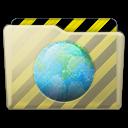 Beige Folder Webdev Icon