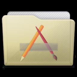 Beige Folder Apps Icon 256x256 png