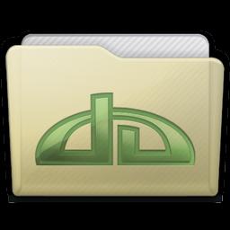 Beige Folder Deviations Icon 256x256 png
