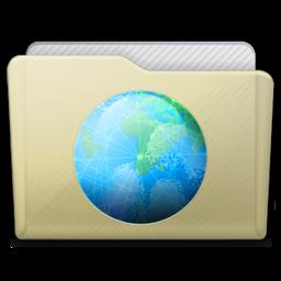 Beige Folder Sites Icon 256x256 png
