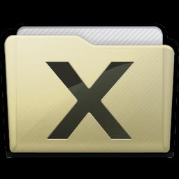 Beige Folder System Icon 256x256 png