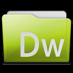 Folder Adobe Dreamweaver Icon 256x256 png