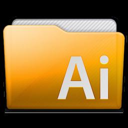 Folder Adobe Illustrator Icon 256x256 png