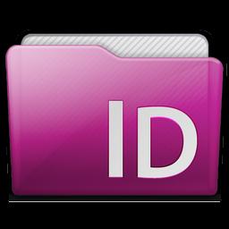 Folder Adobe Indesign Icon 256x256 png