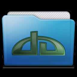 Folder Deviations Icon 256x256 png