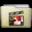 Beige Folder Movies Alt Icon 32x32 png