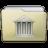 Beige Folder Library Icon