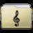Beige Folder Music Alt Icon 48x48 png
