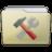 Beige Folder Utilities Icon 48x48 png