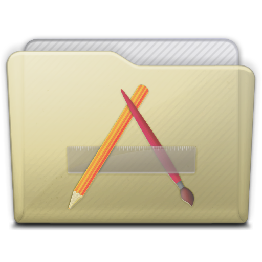 Beige Folder Apps Icon 512x512 png
