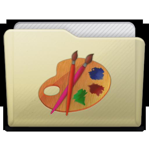 Beige Folder Art Icon 512x512 png