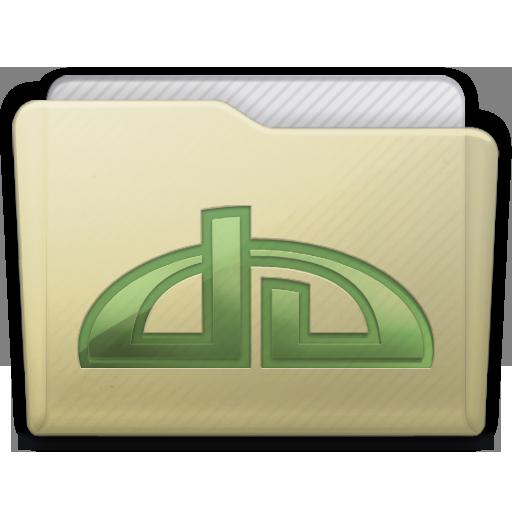 Beige Folder Deviations Icon 512x512 png