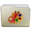 Beige Folder Art Icon 64x64 png