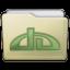 Beige Folder Deviations Icon 64x64 png