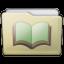Beige Folder Library Alt Icon 64x64 png