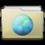 Beige Folder Sites Icon 64x64 png