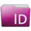 Folder Adobe Indesign Icon 64x64 png