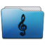 Folder Music Alt Icon 64x64 png