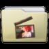 Beige Folder Movies Alt Icon 72x72 png