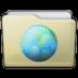 Beige Folder Sites Icon 72x72 png